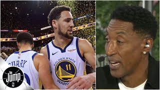 'They're gonna be really deep': Scottie Pippen likes the Warriors in 2019 NBA Finals | The Jump thumbnail