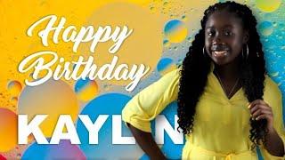 "KAYLIN'S LIVE ""15TH"" BIRTHDAY CELEBRATION POP-IN (7/21/2020)"
