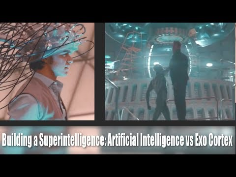 Building a Superintelligence: AI vs Human-Machine Hybdrids