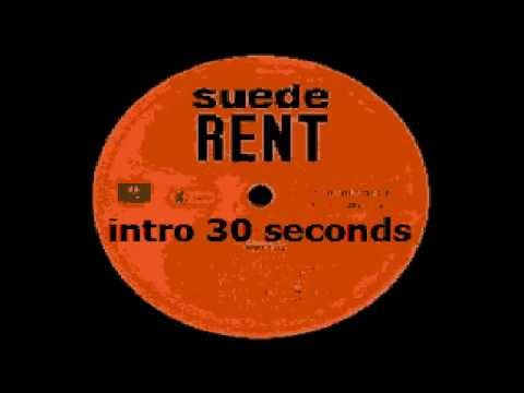 Suede & Neil Tennant - Rent - Karaoke - Instrumental Cover & Lyrics