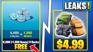 *ALL* Fortnite 5.3 Leaks! | FREE Vbucks, Secret Seasonal Skins, Backbling Bundle!