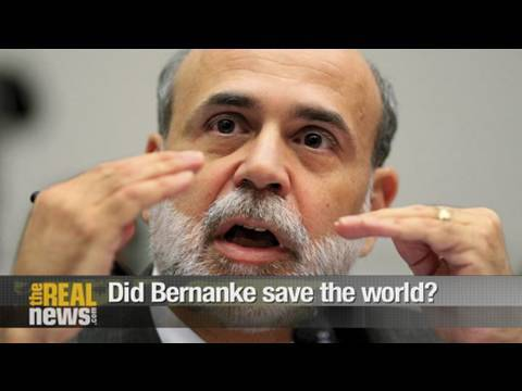 Did Bernanke save the world?