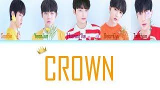 Baixar TXT - CROWN (어느날 머리에서 뿔이 자랐다) [Color Coded Lyrics/Han/Rom/Eng/가사]