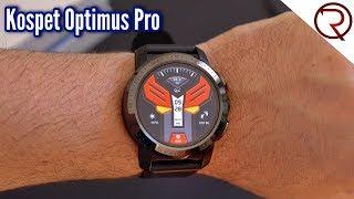 Kospet Optimus Pro Dual - Full Android Smartwatch