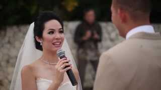 Hansen and Nadia Bali Wedding Highlights | Bayan Tree Bali