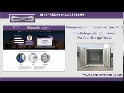 Refrigerated Container Hire Part 2