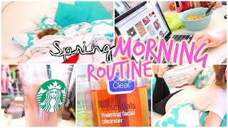 Spring morning routine 2015