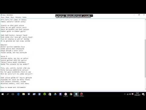 Norm Ender Avare Şarkı Sözleri AURA 2017