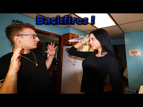I Dont Want To Marry You PRANK BACKFIRES *SHE STABBED ME*