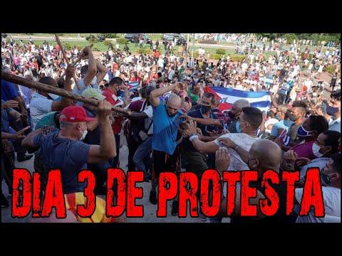 PROTESTA EN CUBA ❗ ESTAMOS RESISTIENDO NECESITAMOS APOYO ❗ ALAIN PAPARAZZI CUBANO ❗