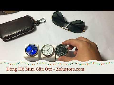 Đồng Hồ Mini Gắn Ôtô -Xe Máy