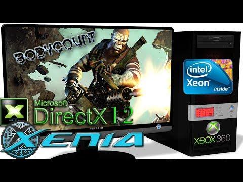 XENIA DX12 [Xbox 360] - Bodycount Gameplay