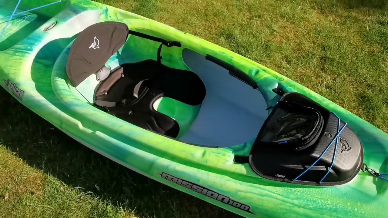 Pelican Mission 100 Kayak Review & Maiden Voyage - YouTube