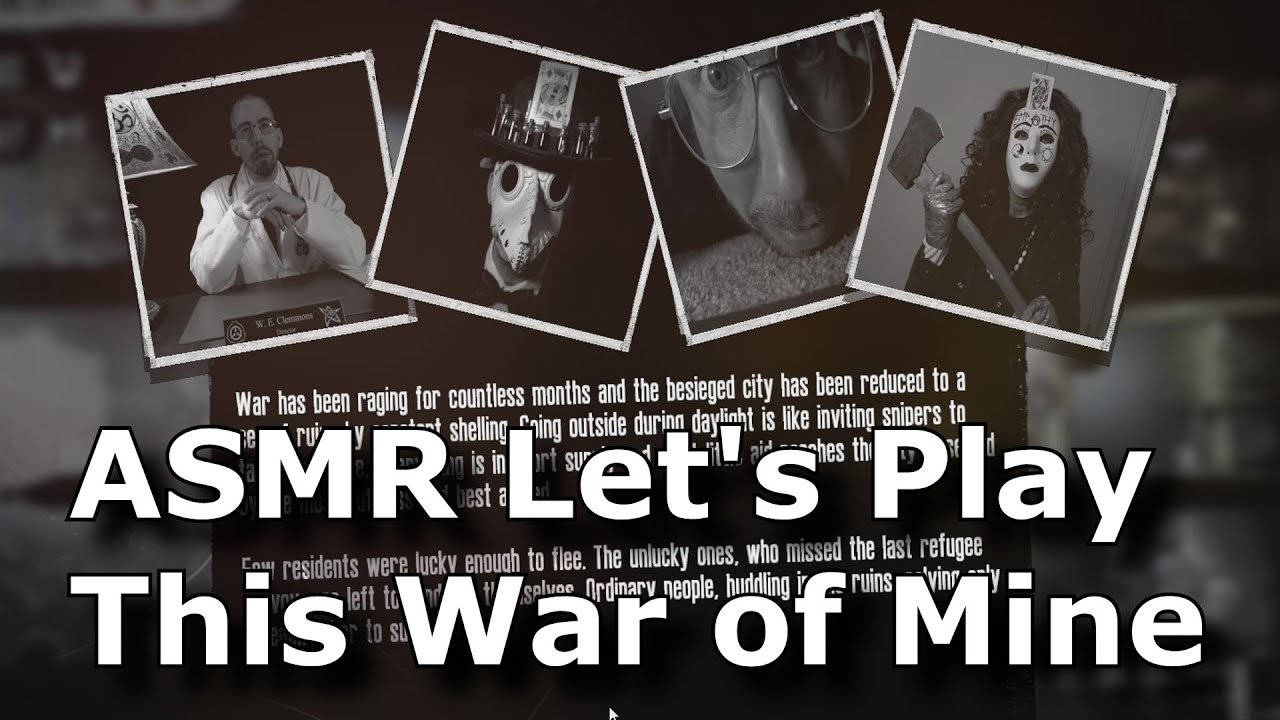 Write my report own story this war of mine