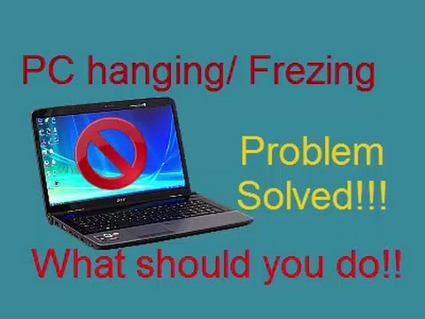 what to do when computer freezes