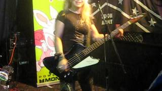 The Dollyrots - Stupidly In Love (Live @ The Three Tuns, Gateshead. 7 Oct 14)