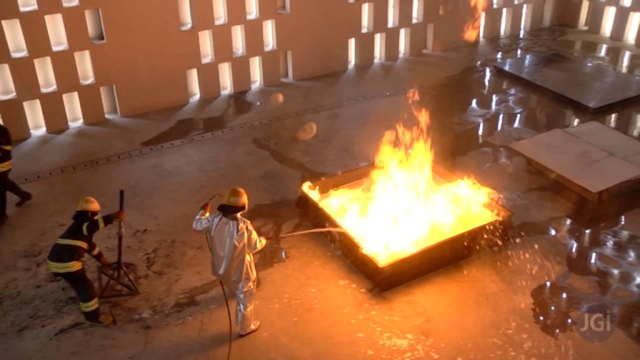 Ul Jain Fire Lab Fire Testing Demonstration Jgi Group