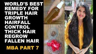 Apply this HAIR MASK Daily Turn Thin Hair to Thick Hair in 7 days Double Hair Growth Long Hair