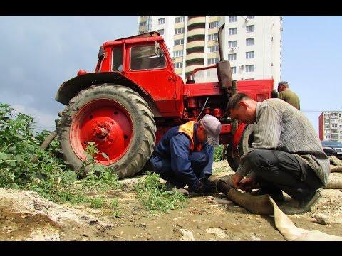 Волгоград: коммунальный гейзер на улице Зорге