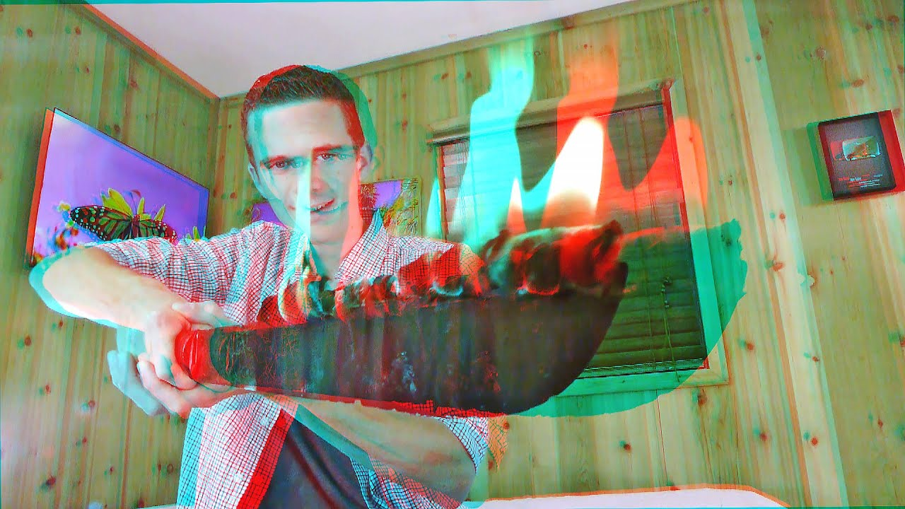3D Video Extreme SCARY FIRE SWORD!!! - YouTube