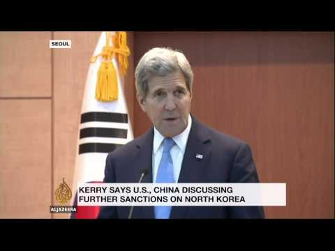 Kerry: North Korea 'not even close' to slowing nuclear programme