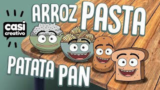 Pasta, Arroz, Patata y Pan | Casi Creativo