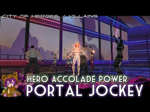 City Of Heroes/Villains - Portal Jockey (Hero Accolade Power)