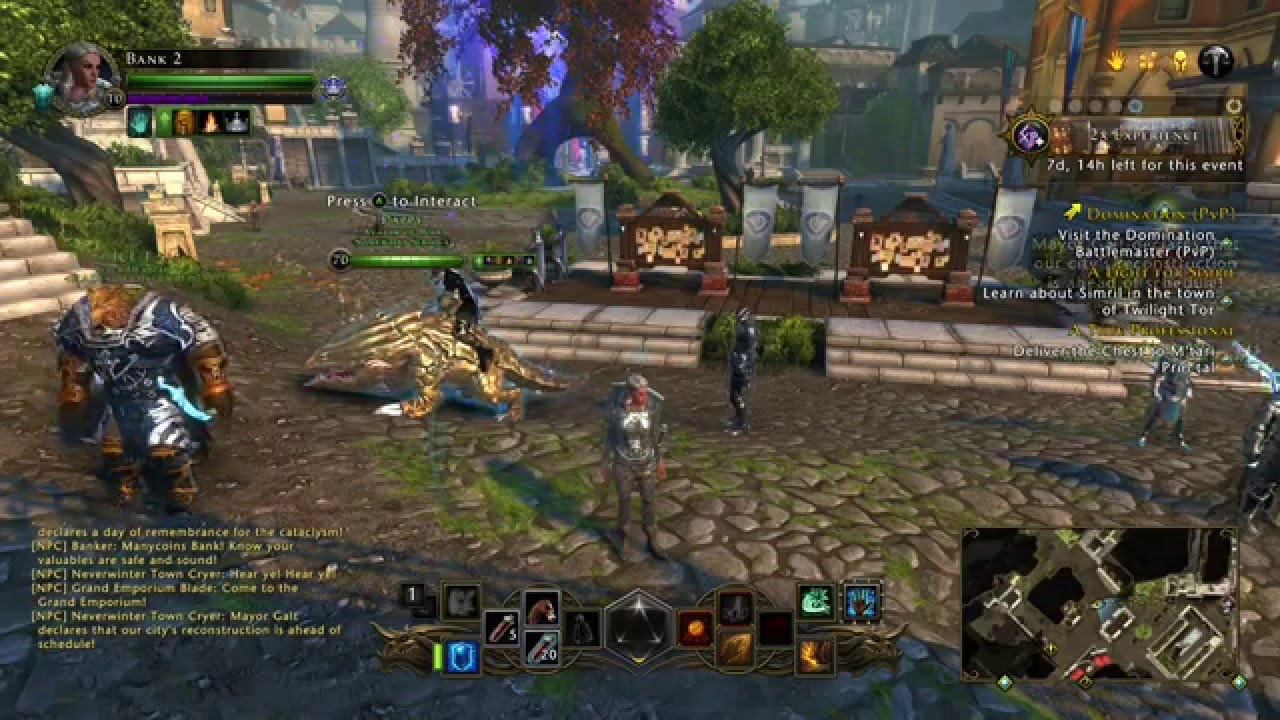 Neverwinter: How to Refine 72K ROUGH ASTRAL DIAMONDS per new character