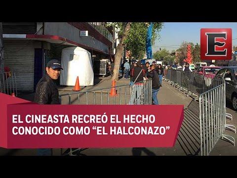 Reabre la México-Tacuba tras concluir filmación de Alfonso Cuarón