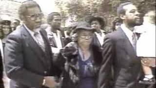 Marvin Gaye Funeral 1