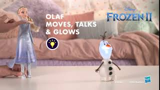 Disney Frozen 3 Talk and Glow Olaf and Elsa Doll