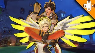 MERCY PIGGYBACK RIDES! - Overwatch Funny & Epic Moments 296 - Highlights Montage