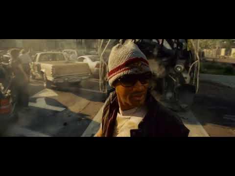-Потому что я пил дура! Хэнкок останавливает поезд! Хэнкок (2008) L Киномомент