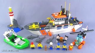 LEGO Coast Guard Patrol set 60014 review!