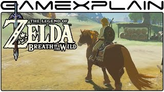 Zelda: Breath of the Wild - Exploring the Stables (Direct Feed)