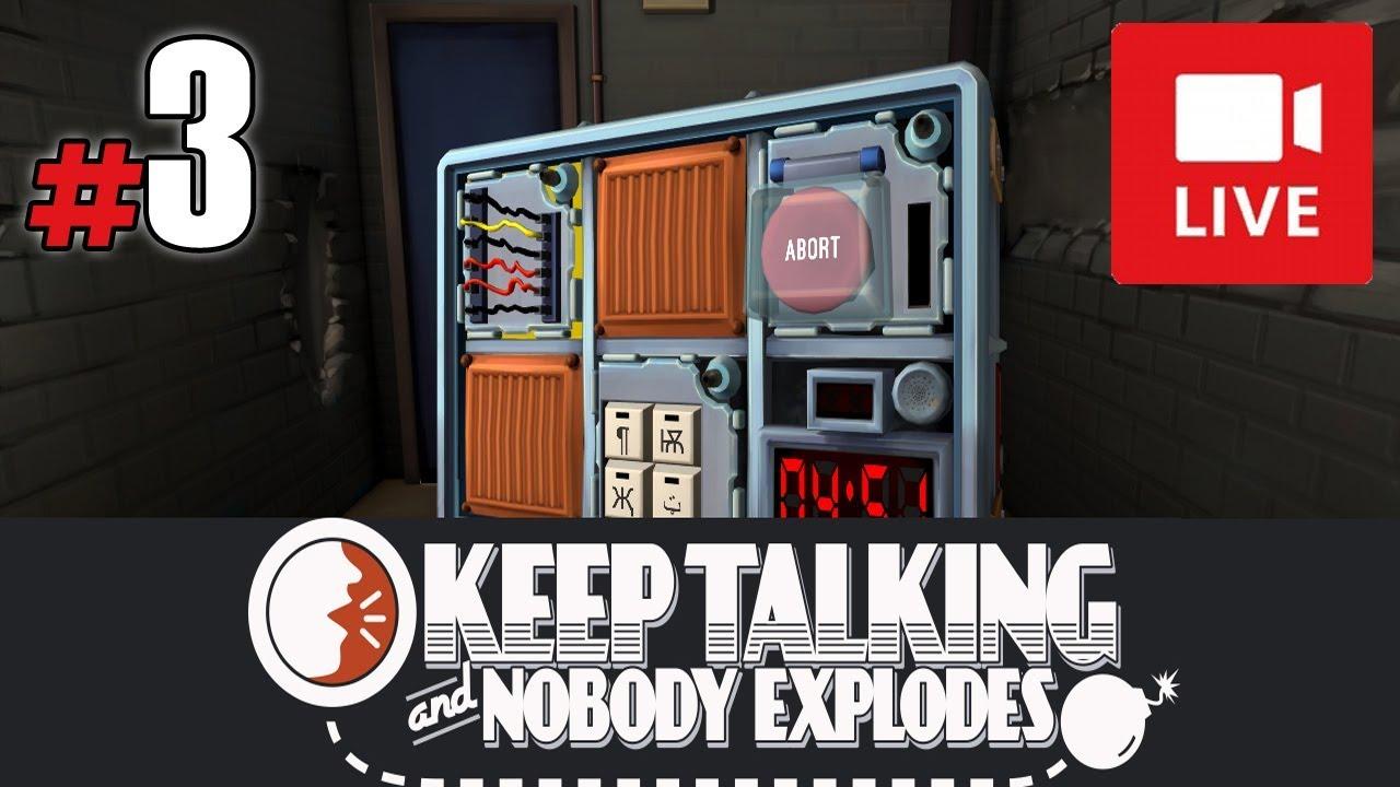 """[Archiwum] Live – Keep Talking and Nobody Explodes z Torgusem! (2) – [1/2] – """"Nie umiem w labirynt"""""""