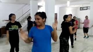 Zumba fitness routine Dance Fitness workout By Akash kumar- Zin