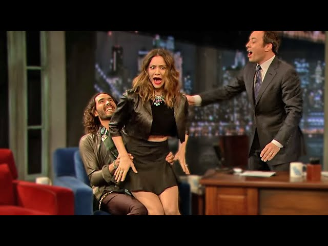 Celebrities Being Naughty On Talk Shows!