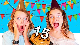 SABRE'S 15th BIRTHDAY PARTY GAMES Challenge By The Norris Nuts