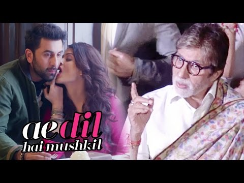 Amitabh Bachchan Finally OPENS On Aishwarya's Ae Dil Hai Mushkil