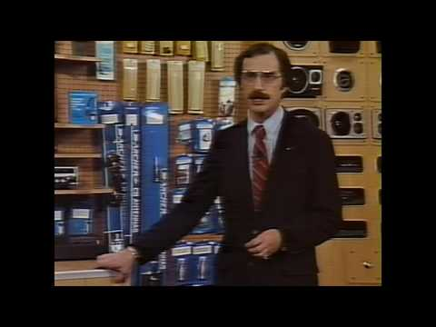 Radio Shack Sales Training VHS - Communications/Security Products