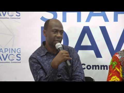 #ShapingDavos in Accra 2016 - Ruben Atekpe (2) #ShapingJobs
