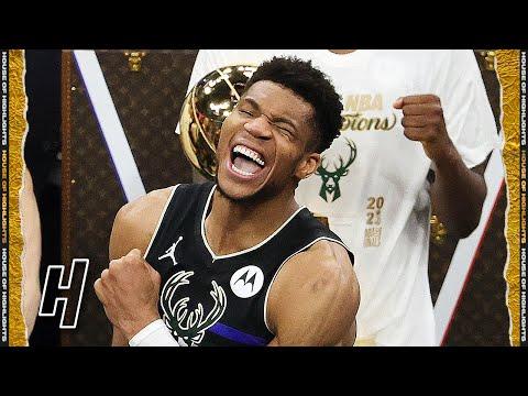 FULL Milwaukee Bucks Trophy Presentation Ceremony - 2021 NBA Champions