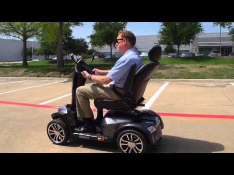 Drive Medical - Cobra GT4 4-Wheel Scooter