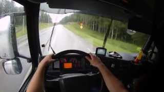 Dangerous Truck Driving - GoPro first person view, (POV) HD 60fps 2015 How To #Real Life