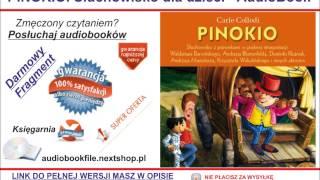Bajka dla dzieci - PINOKIO. Słuchowisko dla dzieci - Carlo Collodi  (Audiobook, mp3)