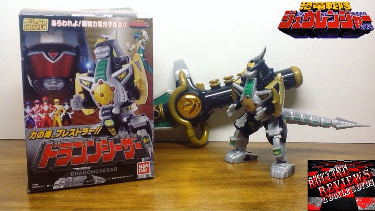 Super Minipla Zyuranger Dragon Caessar Power Rangers Mighty Morphin Dragonzord