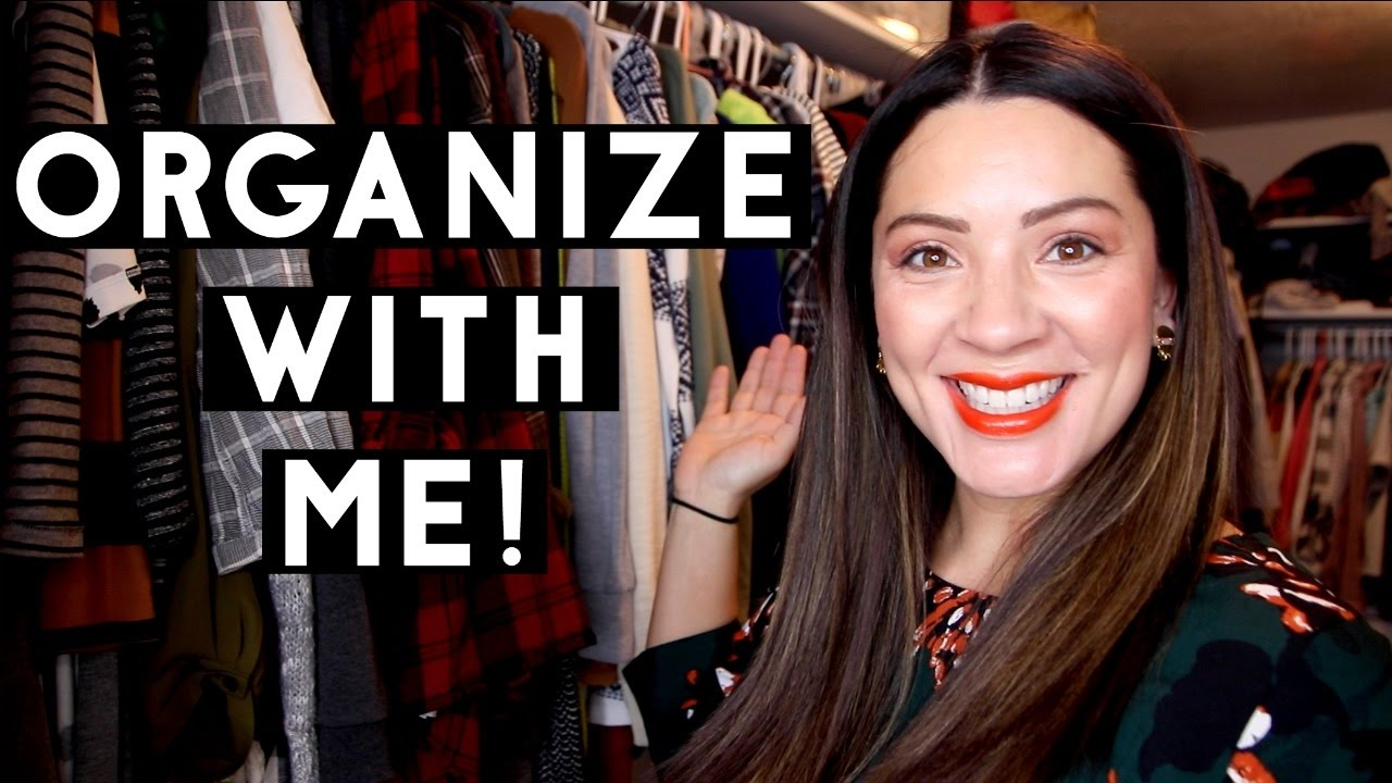 Organize With Me Master Bedroom Closet! Youtube