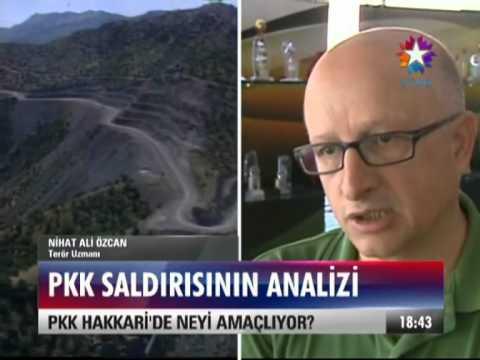 Terör Uzmani Nihat Ali Özcan ile PKK saldirilari ile ilgili repotaj