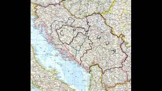 Srbija, Velika Srbija, karta Srbije, Great Serbia map